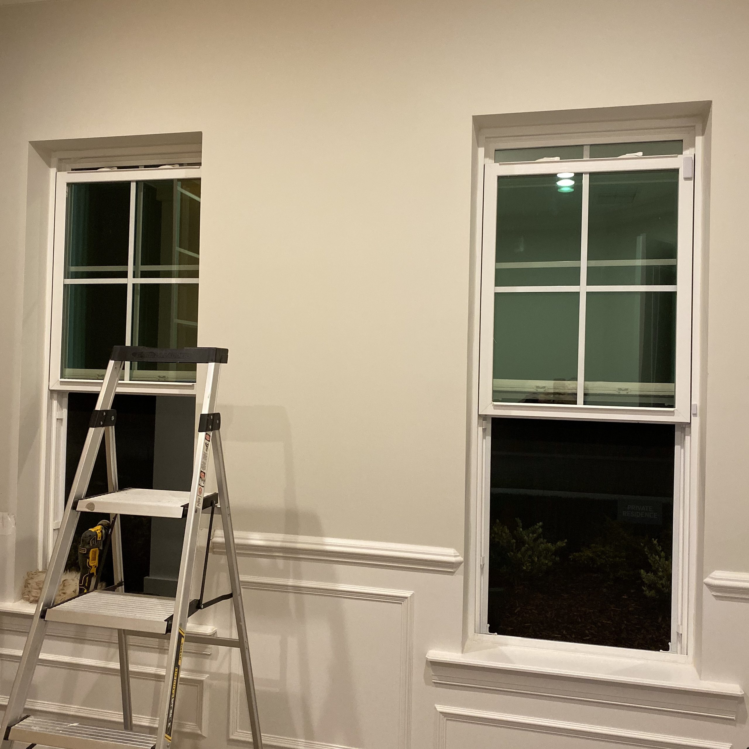 Office Built Ins DIY Before